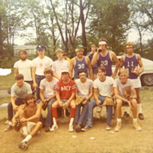 circa 1970 softball gang--200