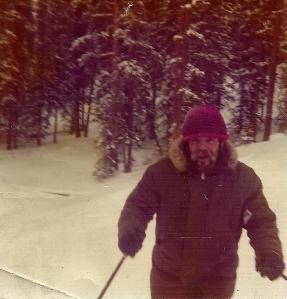 Jeff snow skiing 1975